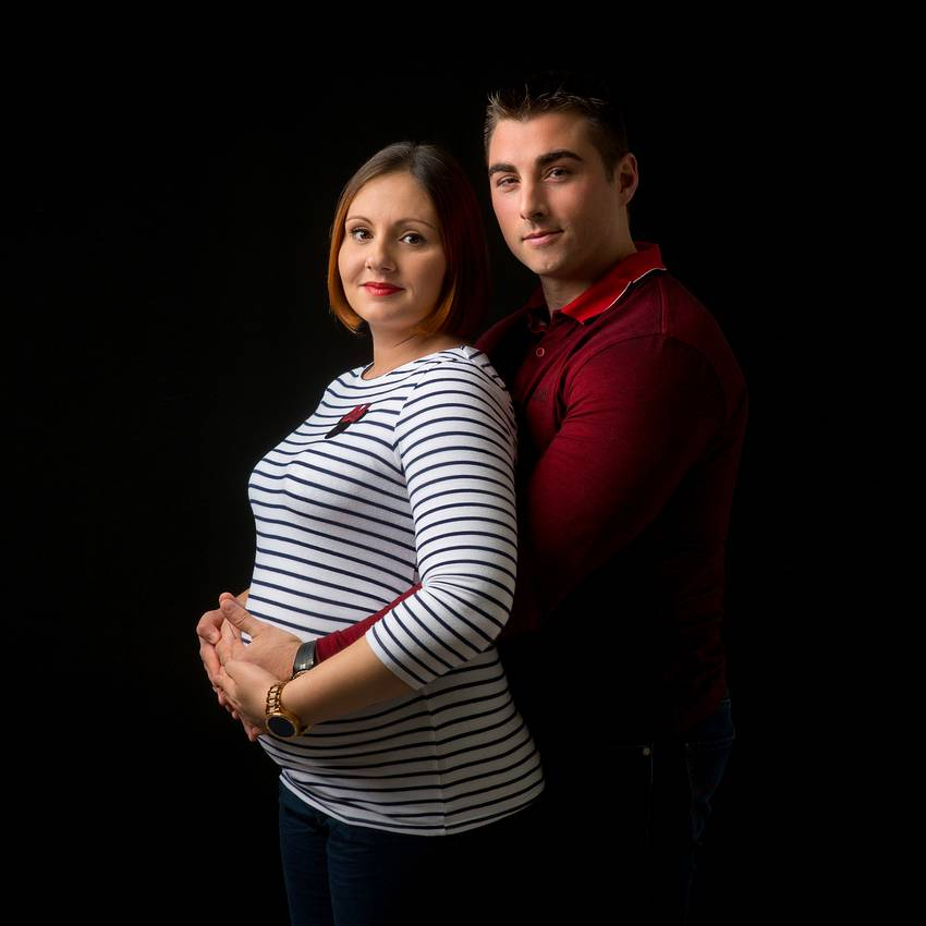 photographe nancy femme enceinte couple